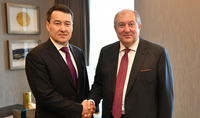 Президент встретился с Первым Вице-премьером Казахстана
