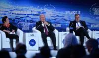 Президент Республики Армен Саркисян в рамках 16-го Евразийского медиа форума принял участие в дискуссии на тему «Деглобализация: мир в поисках новых моделей развития».