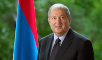 President Sarkissian's congratulatory message on the occasion of Last Call: You should participate in the creation of the values worthy of an advanced country