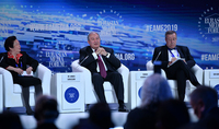 Armen Sarkissian participated at the Eurasian Media Forum discussions: Armenia can become a cooperation bridge between Eurasia and the European Union