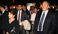 Նախագահ Արմեն Սարգսյանը  տիկնոջ հետ դիտել է իտալացի արվեստագետ Դանիելե  Սպանոյի ինստալյացիայի ցուցադրությունը