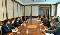 President Armen Sarkissian received delegation of the Asian Development Bank: Armenia and ADB are good partners