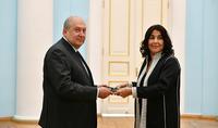 Նախագահին հավատարմագրերն է հանձնել Հայաստանում Մարոկկոյի նորանշանակ դեսպանը