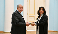 Newly appointed Ambassador of Morocco presented her credentials to the President