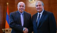Նախագահ Արմեն Սարգսյանը հյուրընկալել է ՌԴ նախագահի հատուկ ներկայացուցիչ Միխայիլ Շվիդկոյին