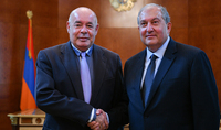 President Armen Sarkissian received the Special Representative of the President of the Russian Federation Mikhail Shvydkoy