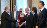 Ցանկացած հասարակության զարգացման հիմքում որակյալ կրթությունն է. նախագահ Արմեն Սարգսյանը հանդիպել է Հայաստանի տեխնոլոգիական ապագային վերաբերող քննարկման մասնակիցներին