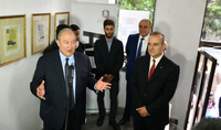 President Armen Sarkissian participated at the opening of the Italian exhibition in Gyumri