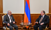 President Armen Sarkissian met with the Chairman of the Public Council Vazgen Manukian
