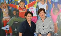 Госпожа Нунэ Саркисян побывала в ереванском офисе ЮНИСЕФ