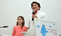 Госпожа Нунэ Саркисян подарила малышам праздник сказки