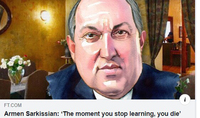 'The moment you stop learning, you die': President Armen Sarkissian's interview to Financial Times