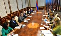Заместитель Генерального секретаря СЕ представила Президенту Саркисяну направления Плана действий Армения-СЕ