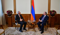 Президент принял посла ФРГ в Армении Маттиаса Кислера