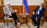 President met with the renowned scientist and inventor of the Armenian descent Raymond Damadian