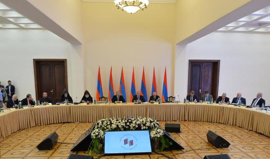 «Հայաստան» համահայկական հիմնադրամը պետք է ընդունվի, ընկալվի և հաստատվի առաջին հերթին որպես համազգային վստահության ինստիտուտ. նախագահ Արմեն Սարգսյան