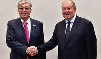 Президент Казахстана направил поздравительное послание Армену Саркисяну