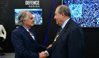 Дружба между Арменией и Италией очень прочна, и мы хотим её ещё больше укрепить – Президент Армении встретился с директором Elettronica Group