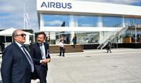 Президент Армен Саркисян в Париже встретился с руководителями компаний Airbus и Air Asia