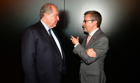 ԵՄ հանձնակատարի հետ նախագահը խոսել է գիտության և նորարությունների ոլորտներում փոխգործակցության հեռանկարների մասին