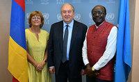 Նախագահ Արմեն Սարգսյանի առաջարկությամբ UNCTAD-ը զեկույց է պատրաստում Հայաստանի ներդրումային քաղաքականության վերաբերյալ. նախագահ Սարգսյանը հանդիպել է ՄԱԿ-ի Առևտրի և զարգացման համաժողովի գլխավոր քարտուղարի հետ