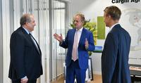 Инвестиции направляются в сторону Армении – Президент Саркисян встретился с руководством одного из крупнейших мировых производителей пищевой продукции