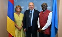 По предложению Президента Армена Саркисяна UNCTAD готовит доклад по инвестиционной политике Армении – Президент Саркисян встретился с Генеральным секретарём Конференции ООН по торговле и развитию