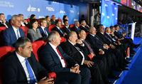 Президент Армен Саркисян присутствовал на церемонии закрытия Вторых Европейских игр