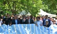 Президент Армен Саркисян в общине Караундж принял участие в Фестивале тута (шелковицы)