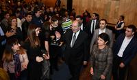 Working visit of the President Armen Sarkissiann to Shirak marz