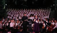 Президент Армен Саркисян присутствовал на концерте юношеского симфонического оркестра «Ереван»