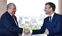 Հայաստանի ու Ֆրանսիայի միջև բարեկամական կապերը հնարավորություն են ընձեռում ունենալ սերտ և իրավամբ արտոնյալ փոխհարաբերություններ. նախագահ Սարգսյանը շնորհավորել է Էմանուել Մակրոնին՝ Ազգային տոնի առթիվ