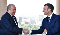 President Sarkissian congratulated Emmanuel Macron on the occasion of National holiday: Friendly relations between Armenia and France allow for close and truly privileged relations