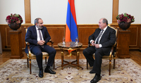 President Armen Sarkissian and Prime Minister Nikol Pashinian held a working meeting