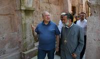 Президент Саркисян посетил Одзунский монастырский комплекс