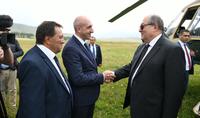 Президент Армен Саркисян с рабочим визитом прибыл в Лорийскую область