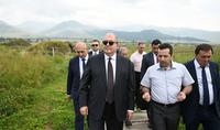 Рабочий визит Президента Армена Саркисяна в Лорийский марз