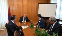 Շամոնին որոշել է ավելի խորացնել համագործակցությունը Դիլիջանի հետ. նախագահ Սարգսյանը պատրաստ է այսուհետ ևս աջակցություն ցուցաբերել