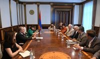President Sarkissian hosted a delegation of the Armenian EyeCare Project Fund and Pediatric Hospital of Los Angeles