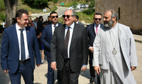 Working visit of the President Armen Sarkissian to Tavush marz