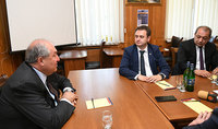 President Sarkissian is ready to continue his assistance: Chamonix has decided to deepen cooperation with Dilijan