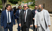 President visited the Haghartsin monastery compound: For me, Haghartsin is also a state symbol