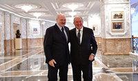Նախագահ Արմեն Սարգսյանը շնորհավորական ուղերձ է հղել Ալեքսանդր Լուկաշենկոյին՝ ծննդյան 65-ամյակի առթիվ
