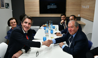 Delegation of a technological leader Thales Group company arrived to Armenia at the invitation of President Sarkissian