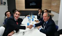По приглашению Президента Армена Саркисяна в Армению прибыла делегация ведущей технологической компании «Thales Group»