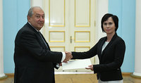 Newly appointed Ambassador of Lithuania presented her credentials to the President: Relations with Lithuania hold a great potential for deepening further