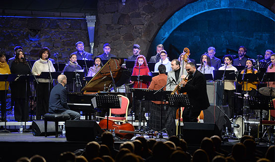 Президент Армен Саркисян присутствовал на концерте «Культурный диалог»