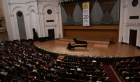 President Armen Sarkissian and Mrs. Nouneh Sarkissian were present at the concert of András Schiff
