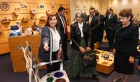 «Հայաստանը մեր սրտում է». Հանրապետության նախագահի տիկին Նունե Սարգսյանը և Քուվեյթի շեյխուհի Հուսա Սաբահ Ալ-Սալեմ Ալ-Սաբահը այցելել են Գաֆեսճյան արվեստի կենտրոն