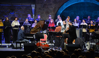 President Armen Sarkissian was present at the concert titled the Cultural Dialogue